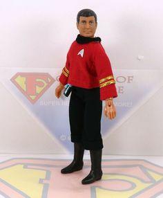 "Reproduction MEGO Star Trek Phaser For 8"" Action Figure Spock Capt Kirk Scotty"