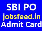 Download SBI PO Admit Card 2014 / Probationary Officer Exam Hall Ticket on sbi.co.in