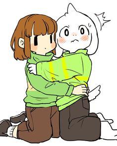 Asriel and Chara by semi. (@semi_kon) | Twitter