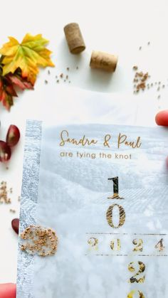 A romantic fall winery save the date inspired by rows of vines, the sprawling scenery, and the fall colors on the vine leaves after the wine harvest..The wax seal detail with tiny pieces of pure cork add the perfect amount of rustic chic style to your winery wedding. Visit us to know more. #corksavethedates #wineryweddingsavethedates Rustic Wedding Stationery, Laser Cut Wedding Invitations, Destination Wedding Invitations, Cream Wedding, Farm Wedding, Wedding Table, Laser Cut Save The Dates, Rustic Wedding Save The Dates, Vine Leaves