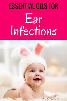 Ear Infections are no fun, but they don't have to result in medication! Try these Essential Oils for Ear Infections to quickly stop ear infections. via @wendypolisi