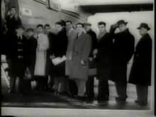Munich air disaster newsreel footage