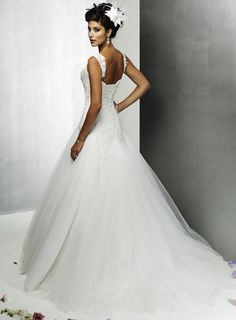 Back view of dress.