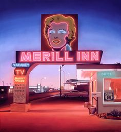 """Artist Ben Steele paints """"Merill Inn"""" available in a fine art canvas edition from The Greenwich Workshop, Inc."""