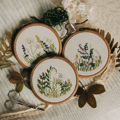 5,153 вподобань, 32 коментарів – Ellen Tyn (@liskin_dol) в Instagram: «Come, Spring, come! Three embroidered meadows are available on foxychest.etsy.com Invite spring to…»