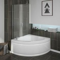 small corner bathtub with shower. Laguna Corner Shower Bath With Screen  Panel Standard Image Small Bathtubs Kohler 4 Tub Combo For