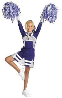 Cheerleader Costume Idea  sc 1 st  Pinterest & Cheerleader Kids Costume | Pinterest | Girls cheerleader costume ...