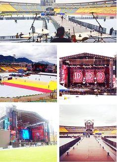 The WWA Tour stage