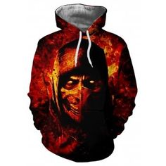 Gender:Men's Style:Street chic, Casual Sports Clothing Sub Category:Hoodie Neckline:Hooded Fabric:Elastane, Polyester Character, Color Block Fit Type:Regular Fit Size (Inches) Fit UK Size Fit EU Size Bust Length / / / / 26 / / 45 / / 15 Autumn Fashion 2018, New Fashion, American Fashion, Cheap Hoodies, Cool Hoodies, Long Bomber Jacket, Skull Hoodie, Sport T Shirt, Mens Sweatshirts