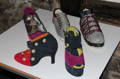 Shoes designed by Leicester College students using Delcam CRISPIN ShoeMaker. Leicester, Food Industry, College Fashion, Designer Shoes, Dog Food Recipes, Kittens, Fashion Show, Footwear, College Students