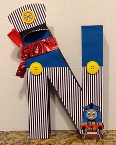 A personal favorite from my Etsy shop https://www.etsy.com/listing/176258455/kids-12-large-thomas-the-train-inspired
