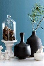 Ellos Home Vase Black 2-pk Svart - Krukker & vaser | Ellos Mobile
