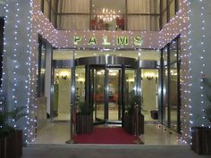 Diwali Lights - Palms Hotel