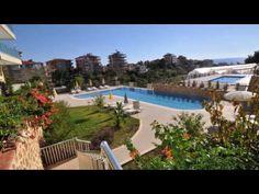 Strandnahe Luxus Wohnung Alanya mit schönem Meerblick im Habitat Residen...