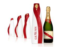 Fresh Cordon Rouge by Patrick Jouin Mumm Champagne, Champagne Box, Sparkling Wine, Fine Wine, Wines, Packaging Design, Cool Designs, Bubbles, Alcohol