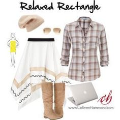Image result for clothes for plus size rectangle shape