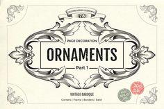 Page decoration Ornate Vintage  by Samira on @creativemarket