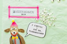 Zuckeraugen-DIY