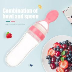 Baby spoon bottle feeder dropper silicone spoons for feeding medicine kids baby tableware children accessories newborn Pureed Food Recipes, Baby Food Recipes, Shops, Baby Eating, Bottle Feeding, Baby Bottles, Food Grade, Safe Food, Easy