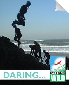 Coasteering for an adventure activity break in Wales