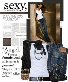 """""""Wanna Try My Wicked Wiles??"""" by getthelook4less on Polyvore"""