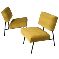 Pair of French Modern Chairs by Pierre Guariche for Airborne ca1960