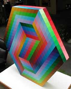 Saper Galleries and Custom Framing is the source for Victor Vasarely Kedzi sculpture Victor Vasarely, Jean Arp, Henry Moore, Temple Of Light, Spirited Art, Illusion Art, Arte Popular, Art Abstrait, Art Moderne