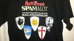 Monty Python and the Holy Grail Musical Spamalot Mens Medium Tshirt  Great condition. No major signs of wear.