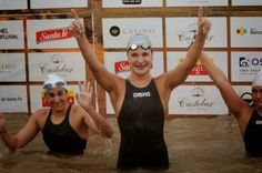 The Daily News of Open Water Swimming: Maurer vs. Geijo in Playa del Carmen : Courtesy of WOWSA , Huntington Beach , California. Open Water Swimming, Huntington Beach, Daily News, California, Playa Del Carmen