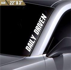 "Mint sticker 18/"" Windshield JDM acura subaru decal VW mitsubishi"