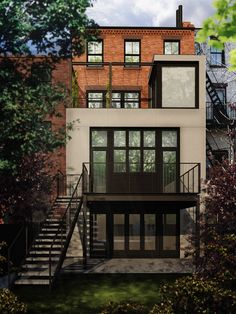 (if I stay in NY) Cobble Hill Townhouse, designed by Incorporated Architecture + Design #architecture #design #brooklyn
