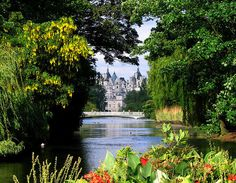 View from St. James Park, London