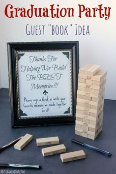 Throw a Graduation Party Blowout — On a Budget! - Throw a Graduation Party Blowout — On a Budget! – thegoodstuff Throw a Graduation Party Blowout — On a Budget! Outdoor Graduation Parties, Graduation Party Planning, College Graduation Parties, Graduation Celebration, Graduation Party Decor, Grad Parties, Graduation Ideas, Graduation Quotes, Grad Party Favors