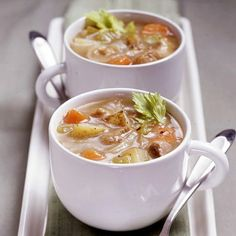 Cider Pork Stew in the slow cooker, from Diabetic Living