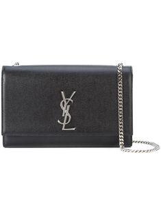 86ed2c4f8 Medium Kate Monogram Shoulder Bag - Black - Saint Laurent Shoulder bags