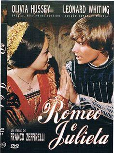 """Dicas de Filmes pela Scheila: Filme: """"Romeu e Julieta (1968)"""""""