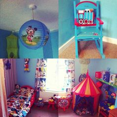 Babyboys Mickey Mouse Bedroom