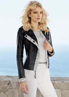 Luxe Nappa Leather Jacket