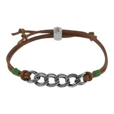 Leather and Links Option 3 | Fusion Beads Inspiration Gallery