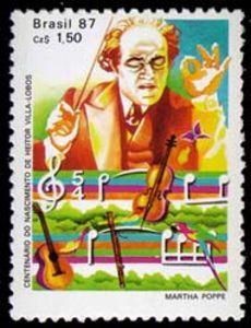 villa lobos stamp - Google Search
