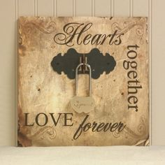 Alternative to Unity Candle.  The small Declaration Plaque is a great way to personalize your wedding
