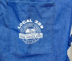 Vintage Postal Worker Apron National Postal by DownADustyRoad