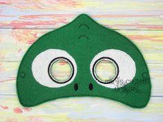 Chameleon Mask Lizard Mask - Jungle Animal Mask - Jungle Party  - Felt Dress Up Masks - Birthday Party Favor Halloween by ArielsCustomDesigns on Etsy