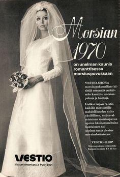 70-luvulta, päivää !: Hääpäivänään, jos milloinkaan, nuori nainen haluaa olla kaunis