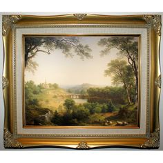 Found it at Wayfair - 'Sunday Morning 1860' by Asher B. Durand Framed Painting Print