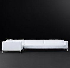 Italia Shelter Arm Fabric Sofa | RH Modern