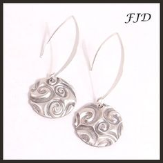 Fine and Sterling Silver Earrings