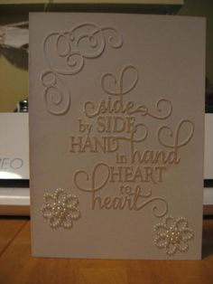 Anniversary/Wedding Card