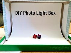 Untypically Jia: DIY Photo Light Box