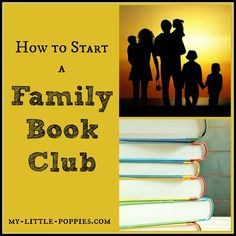How to Start a Family Book Club: Moms and Dads, here is a fun idea for a summer family project, with lots of ideas for extension activities. Reading aloud can have such a positive impact on family life. Reading Tips, Reading Resources, Teaching Reading, Library Activities, Reading Activities, Family Activities, Book Club Books, Good Books, Books To Read